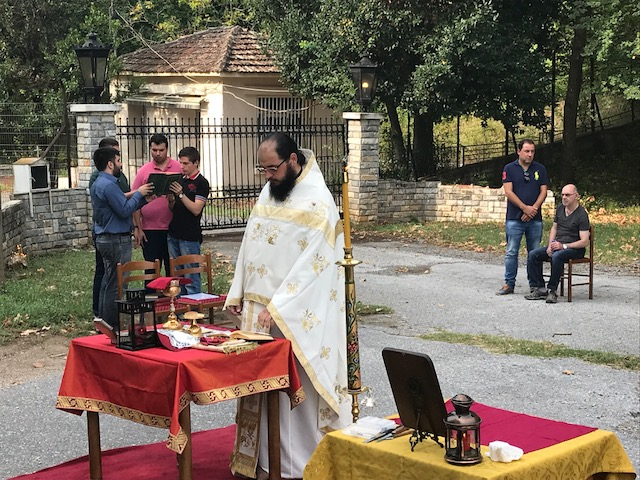 IMG 3883 - Απαγόρευσαν να τελεστεί Θεία Λειτουργία σε μοναστήρι στον Όλυμπο (ΦΩΤΟ)