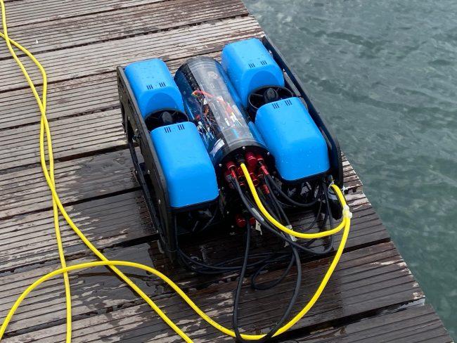 Θεσσαλονίκη: Ξεκίνησε ο εντοπισμός πατινιών με υποβρύχιο drone στον Θερμαϊκό (ΦΩΤΟ), φωτογραφία-1