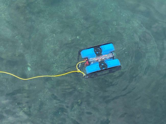Θεσσαλονίκη: Ξεκίνησε ο εντοπισμός πατινιών με υποβρύχιο drone στον Θερμαϊκό (ΦΩΤΟ), φωτογραφία-2