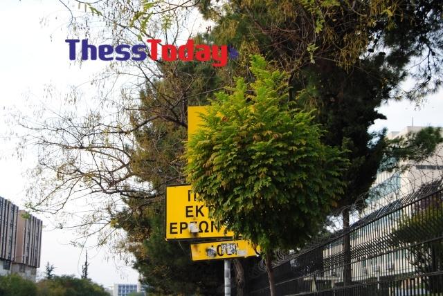 Νέα Εγνατία: Πεζοδρόμια και πινακίδες σε τραγική κατάσταση (ΦΩΤΟ), φωτογραφία-6